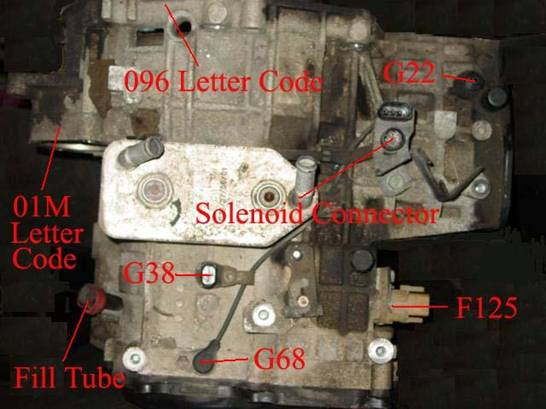What Kind Of Transmission Fluid Do I Need >> This Web Page is 01M Filter change